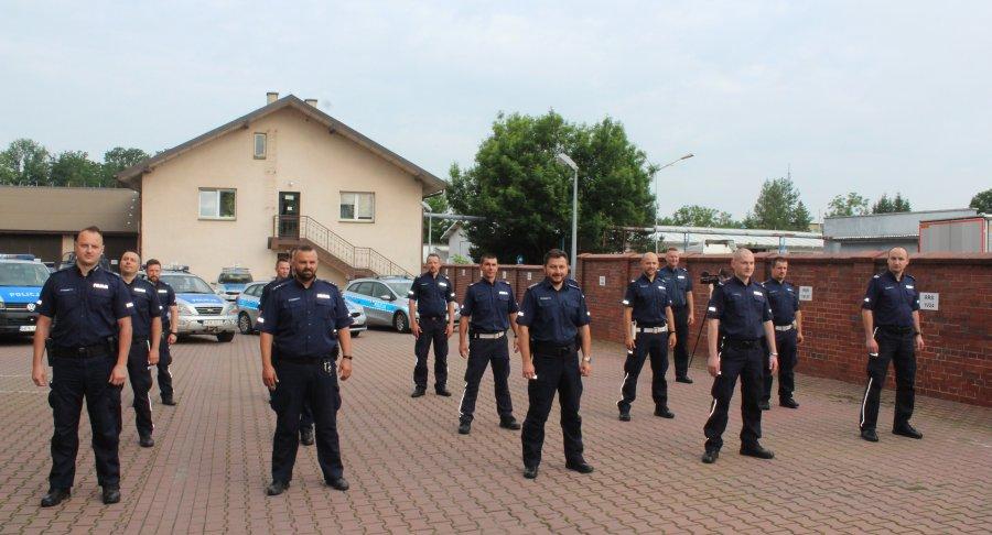 #GaszynChallenge policjantów z Brzozowa [FOTO+VIDEO] - Zdjęcie główne