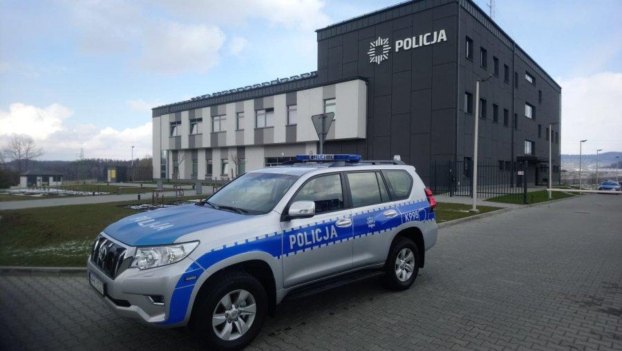 Toyota Land Cruiser trafiła do Posterunku Policji w Baligrodzie  - Zdjęcie główne