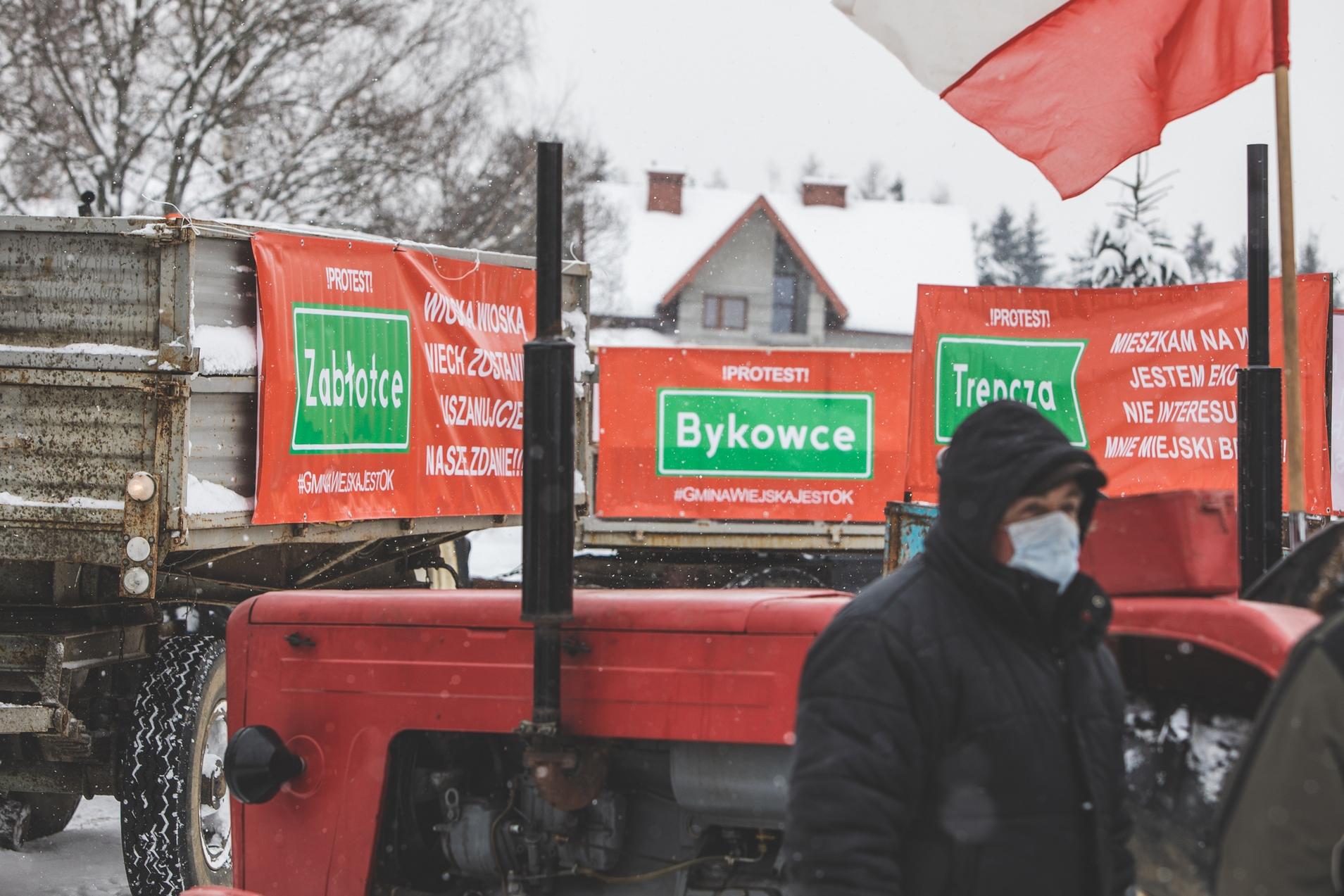 Traktory wyruszyły na protest! [ZDJECIA+FILM] - Zdjęcie główne