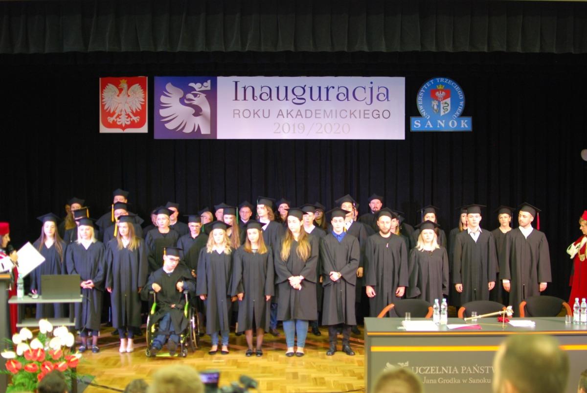 Inauguracja roku akademickiego na sanockiej uczelni wyższej - Zdjęcie główne