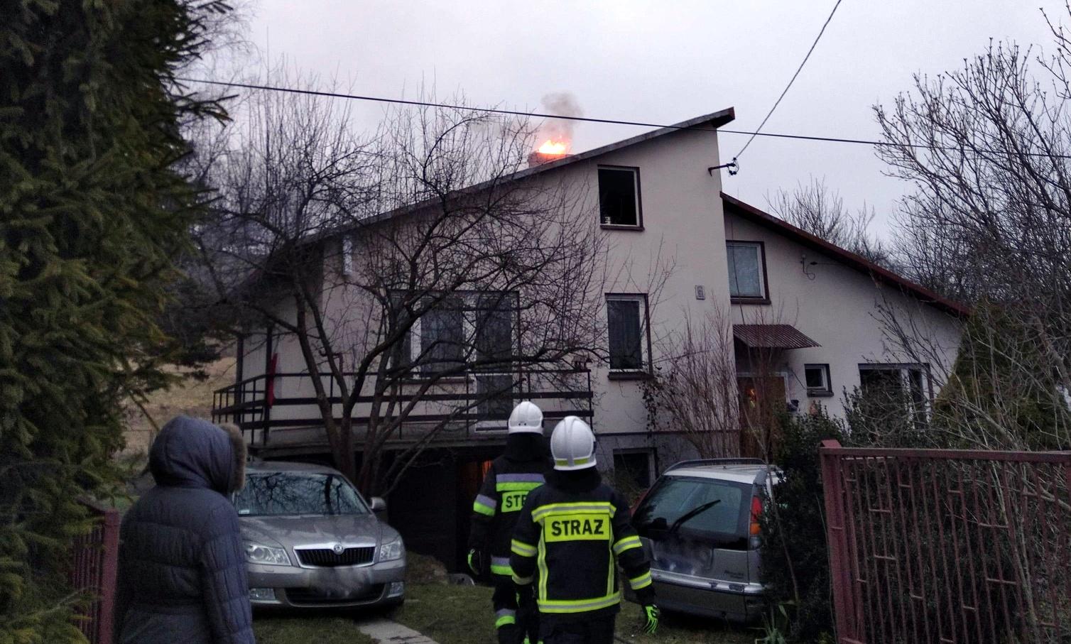 Gdyby nie policjanci 95-latka mogłaby zginąć w pożarze! [ZDJĘCIA] - Zdjęcie główne