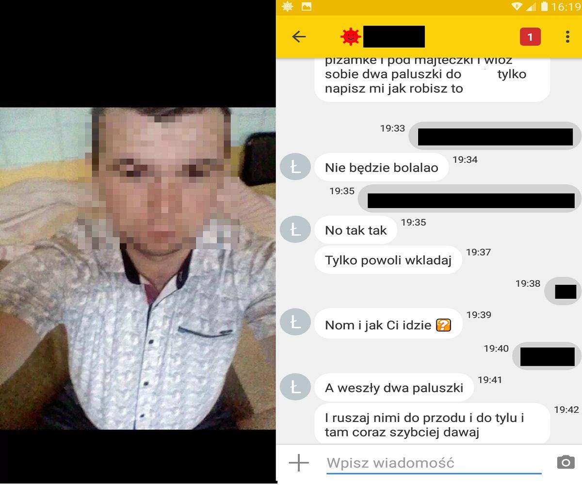 """[Materiał 18+] 29-latek z Podkarpacia zatrzymany przez łowców pedofilów! """"Chcesz, bym ostro ci w ci*** wsadził"""" -  tak pisał do """"12-latki"""" - Zdjęcie główne"""