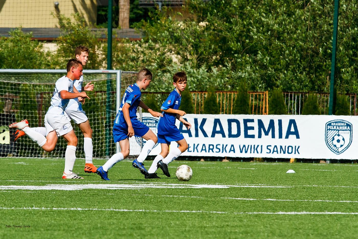 Akademia Piłkarska WIKI Sanok - Stal Rzeszów 2021.06.22 - Zdjęcie główne