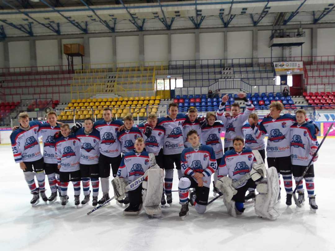 """Turniej Ligi Karpackiej U16 z udziałem """"Niedźwiadków"""" w miniony weekend w Nowym Targu [FOTO] - Zdjęcie główne"""
