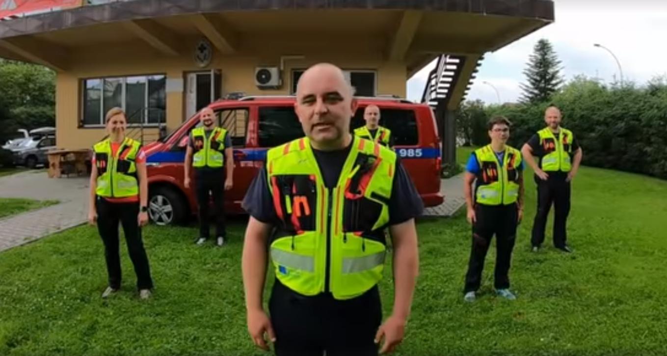#GaszynChallange w wykonaniu bieszczadzkich ratowników GOPR [VIDEO] - Zdjęcie główne