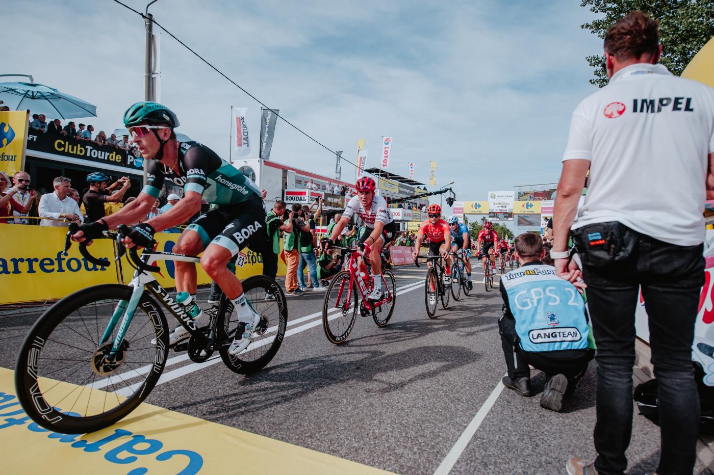 Tour de Pologne UCI World Tour bezpieczeństwo zapewnione przez Grupę Impel - Zdjęcie główne