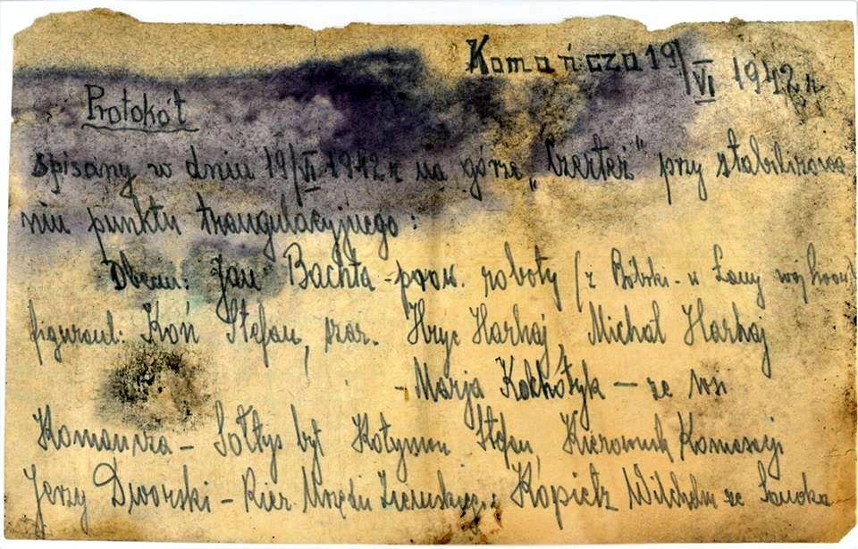 List w butelce z okresu wojennego wykopany w Bieszczadach [FOTO] - Zdjęcie główne