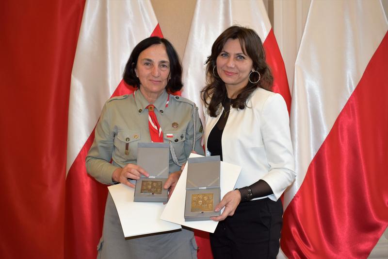 """Sanoczanki uhonorowane """"Medalem 100-lecia Odzyskania Niepodległości"""" - Zdjęcie główne"""