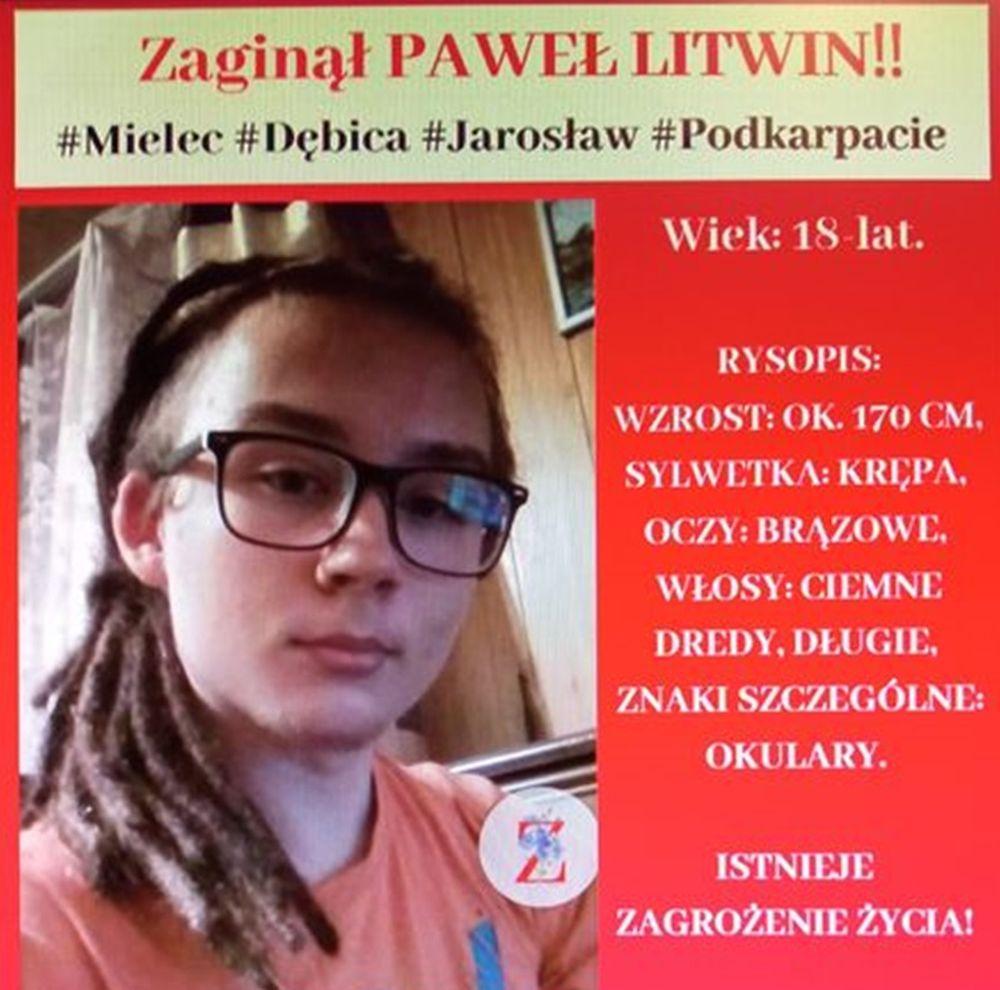 Podkarpacie. Pomóż znaleźć zaginionego 18-latka - Zdjęcie główne