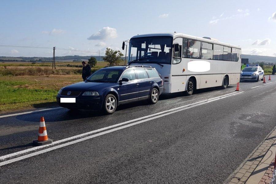 Zdarzenia drogowe na terenie powiatu sanockiego  - Zdjęcie główne
