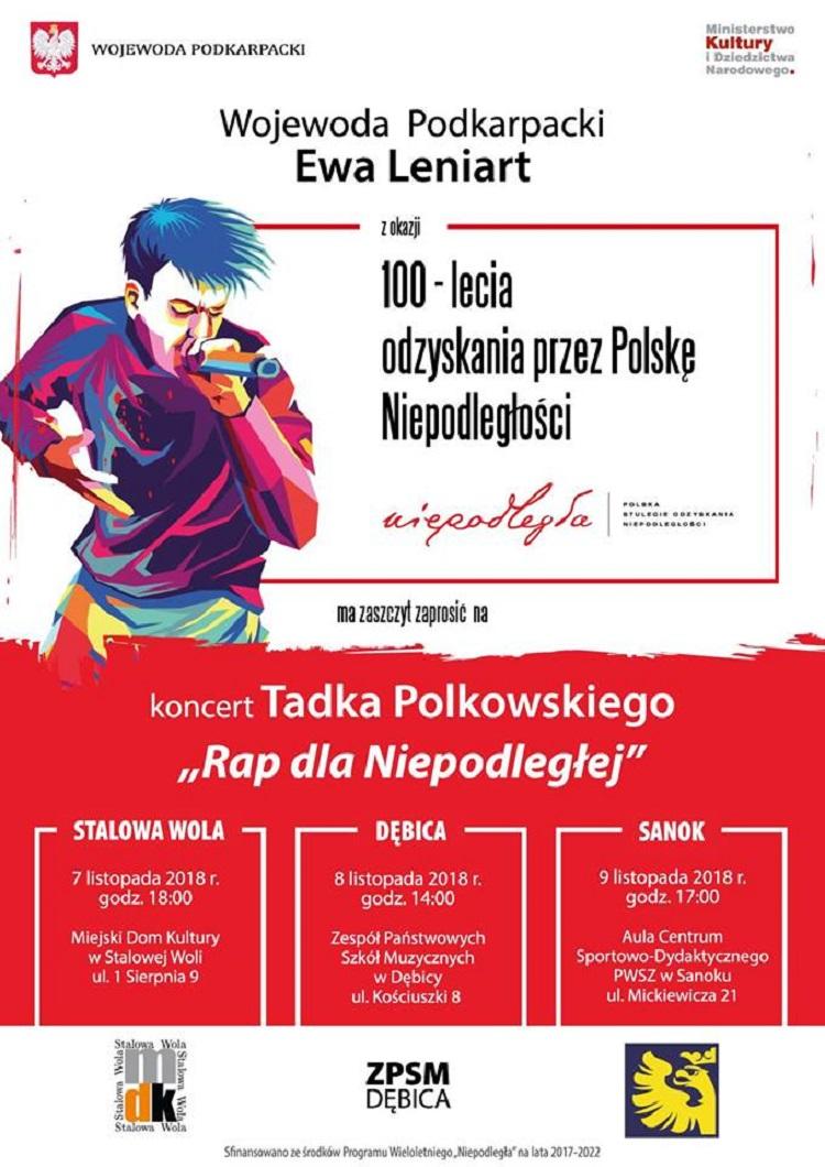 """""""Rap dla Niepodległej"""" - koncert w PWSZ - Zdjęcie główne"""
