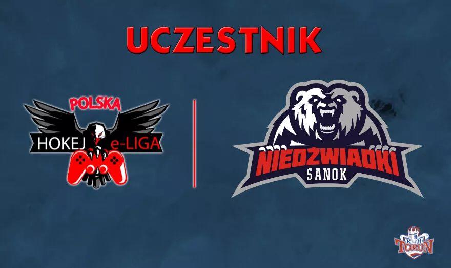 UKS Niedźwiadki MOSIR Sanok w Polskiej Hokej e-Lidze - Zdjęcie główne