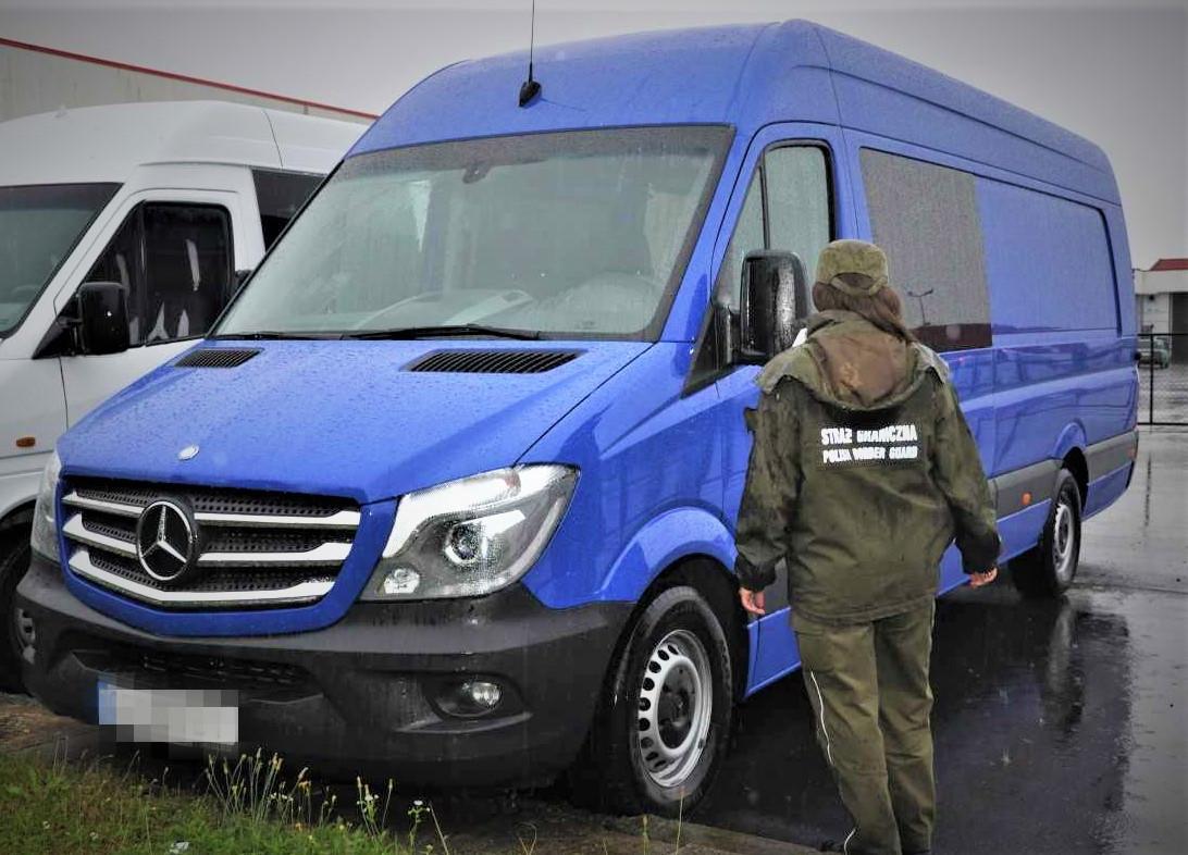Zatrzymano mercedesa wartego 140 tys. złotych - Zdjęcie główne