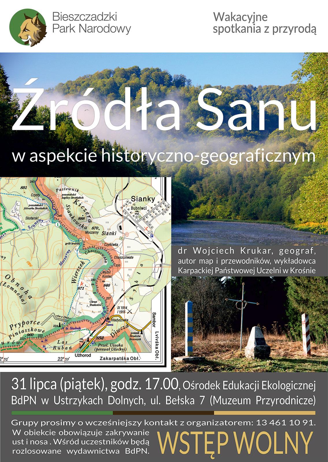 """Spotkanie """"Źródła Sanu w aspekcie historyczno-geograficznym"""" - Zdjęcie główne"""