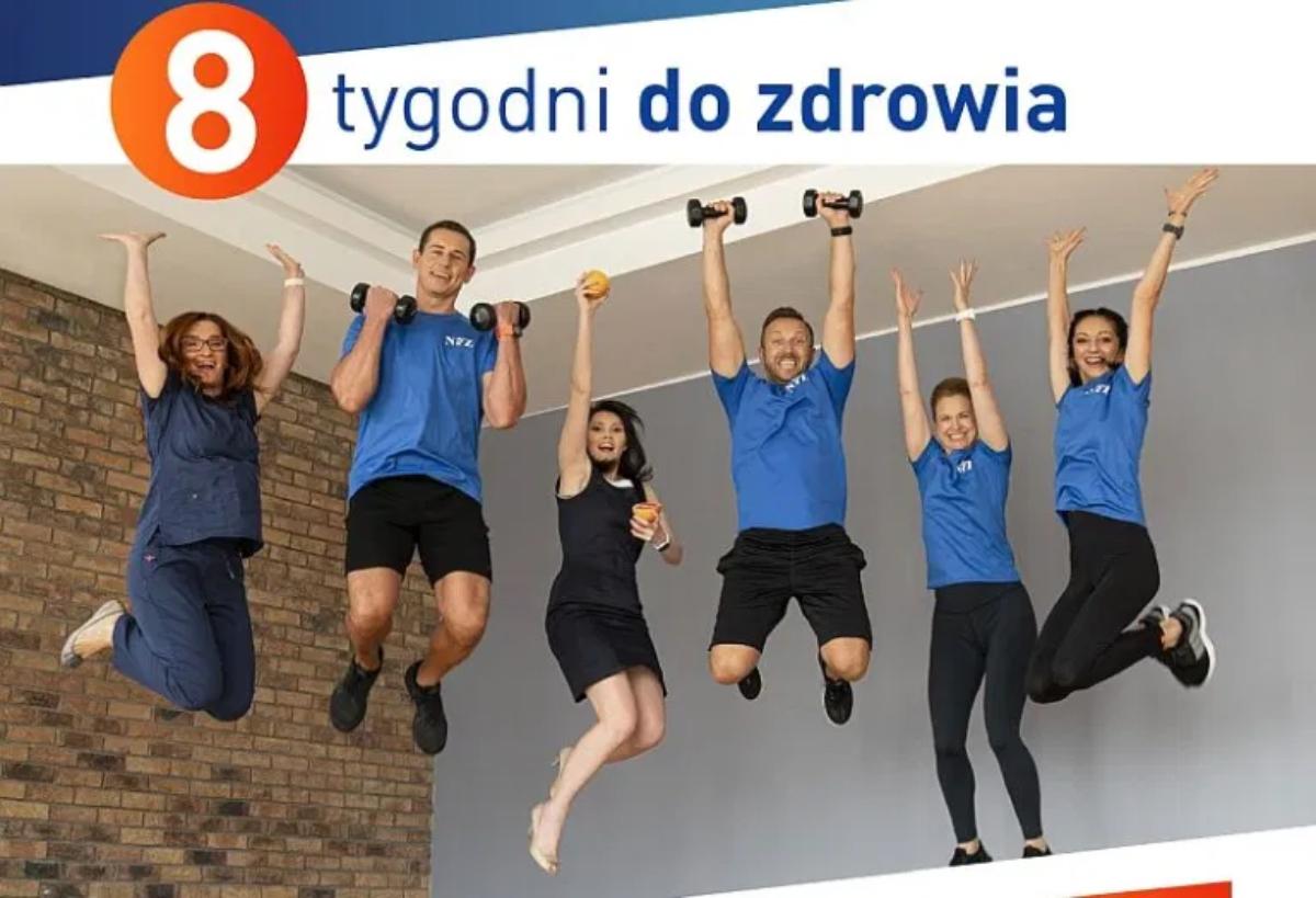 Gmina Sanok. Program promocji aktywności fizycznej #8TygodniDoZdrowia - Zdjęcie główne