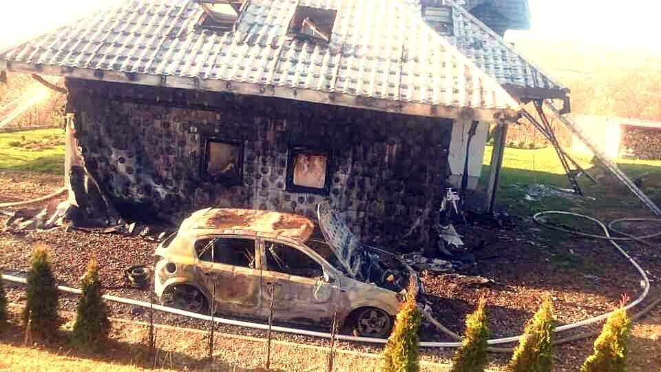 Ogień zabrał im dom. Ruszyła lawina pomocy - Zdjęcie główne