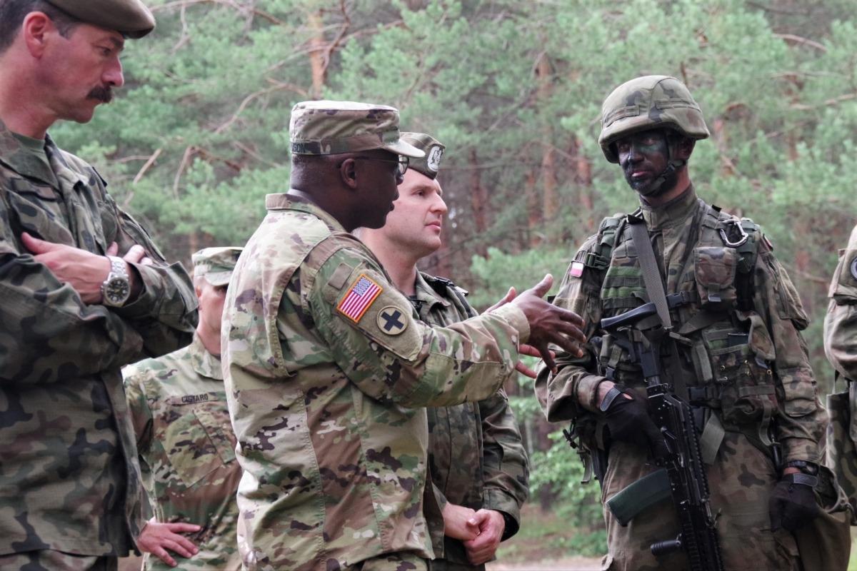 Gwardia Narodowa USA w podkarpackiej Brygadzie Obrony Terytorialnej - Zdjęcie główne
