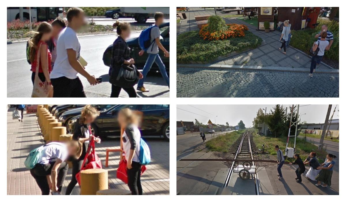 Jak ubierają się mieszkańcy podkarpackich miast? Zobacz zdjęcia Google Street View z Sanoka - Zdjęcie główne