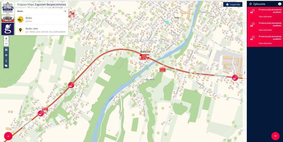 Krajowa Mapa Zagrożeń zdaje egzamin. Kontrola wykazała przekroczenia prędkości! - Zdjęcie główne