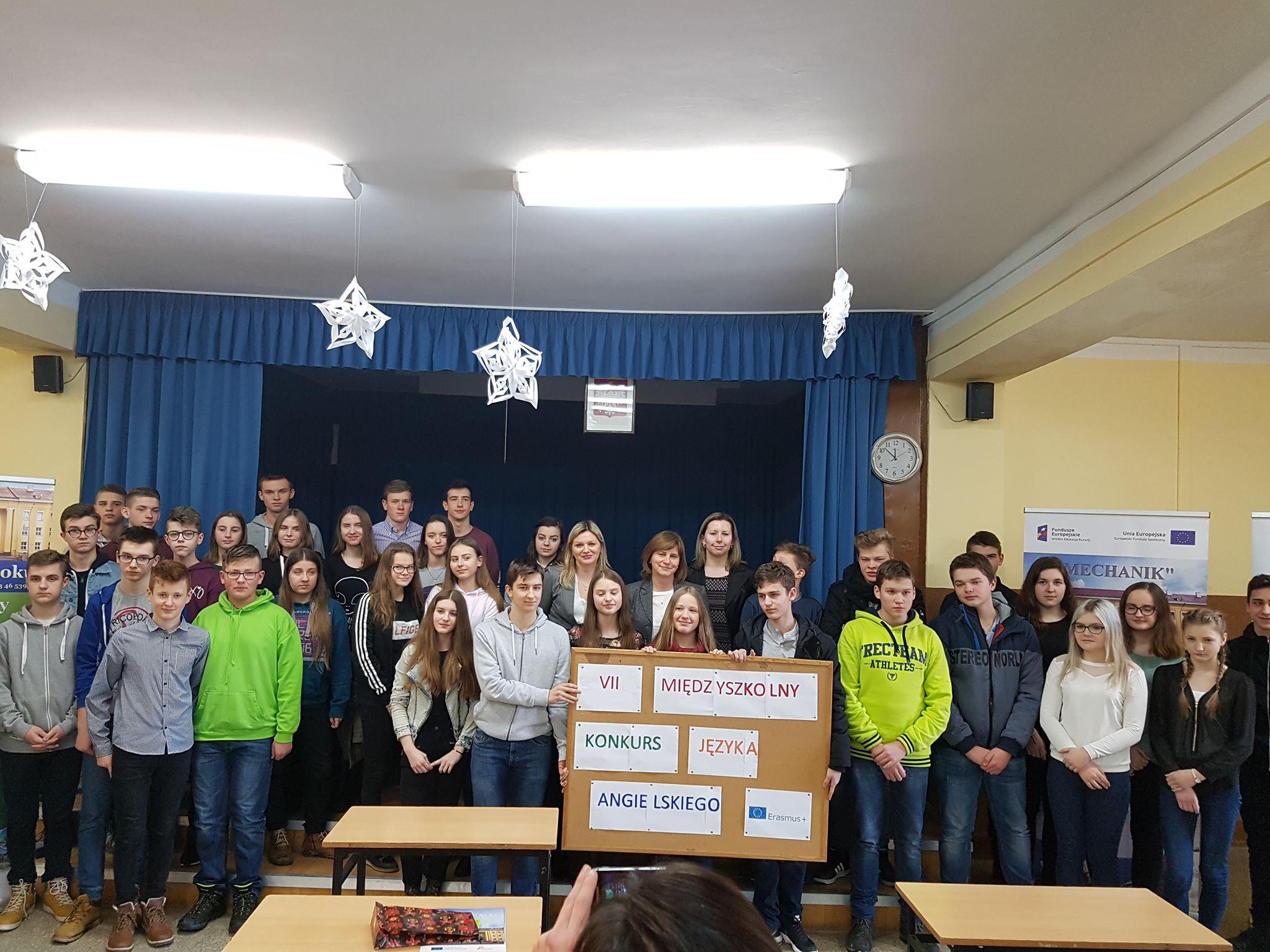 VII Międzyszkolny Konkurs Języka Angielskiego Technicznego dla gimnazjalistów - Zdjęcie główne