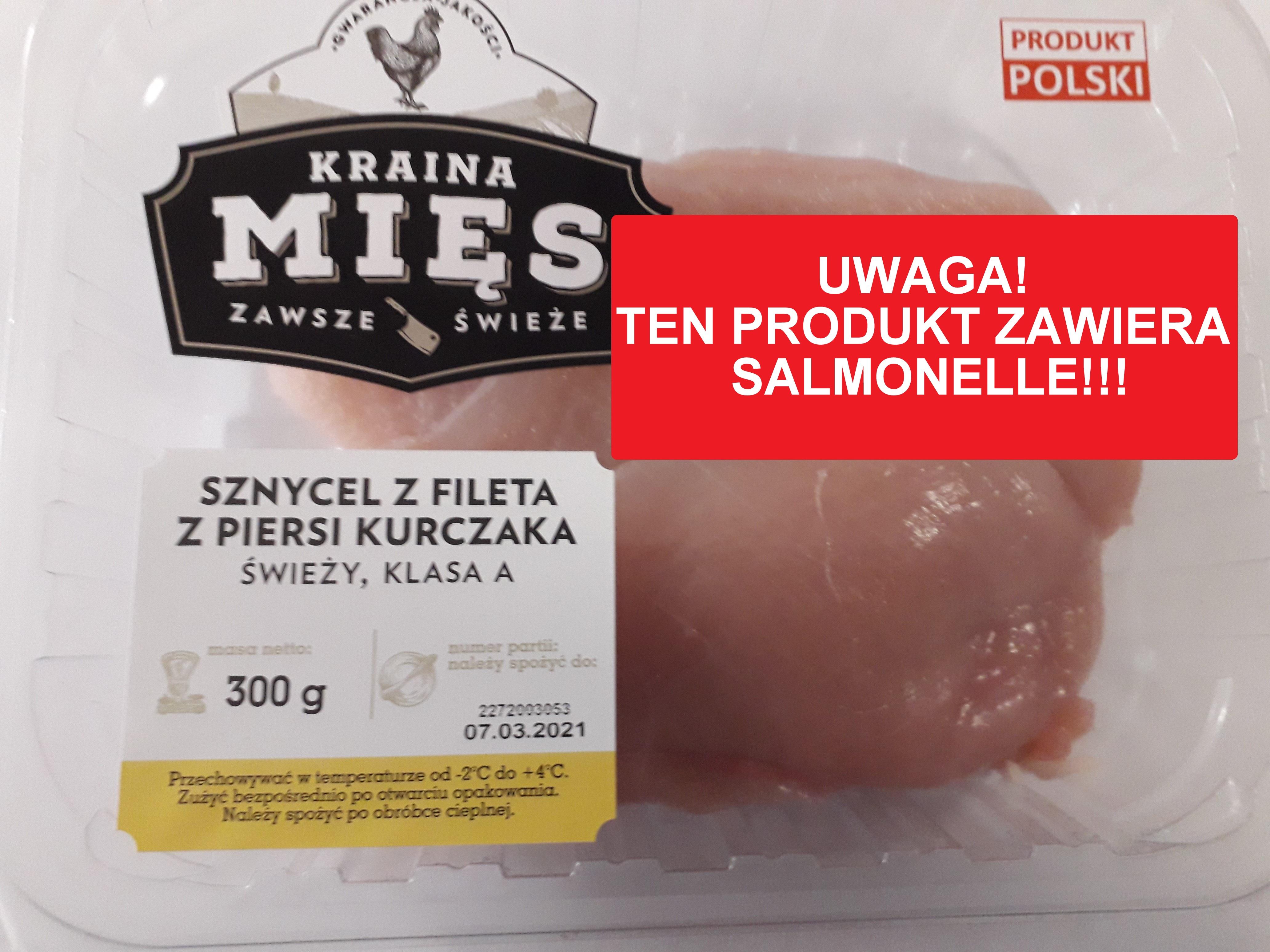 UWAGA! Filety z kurczaka z Salmonellą! Jeśli je kupiłeś, wyrzuć bezwzględnie! - Zdjęcie główne