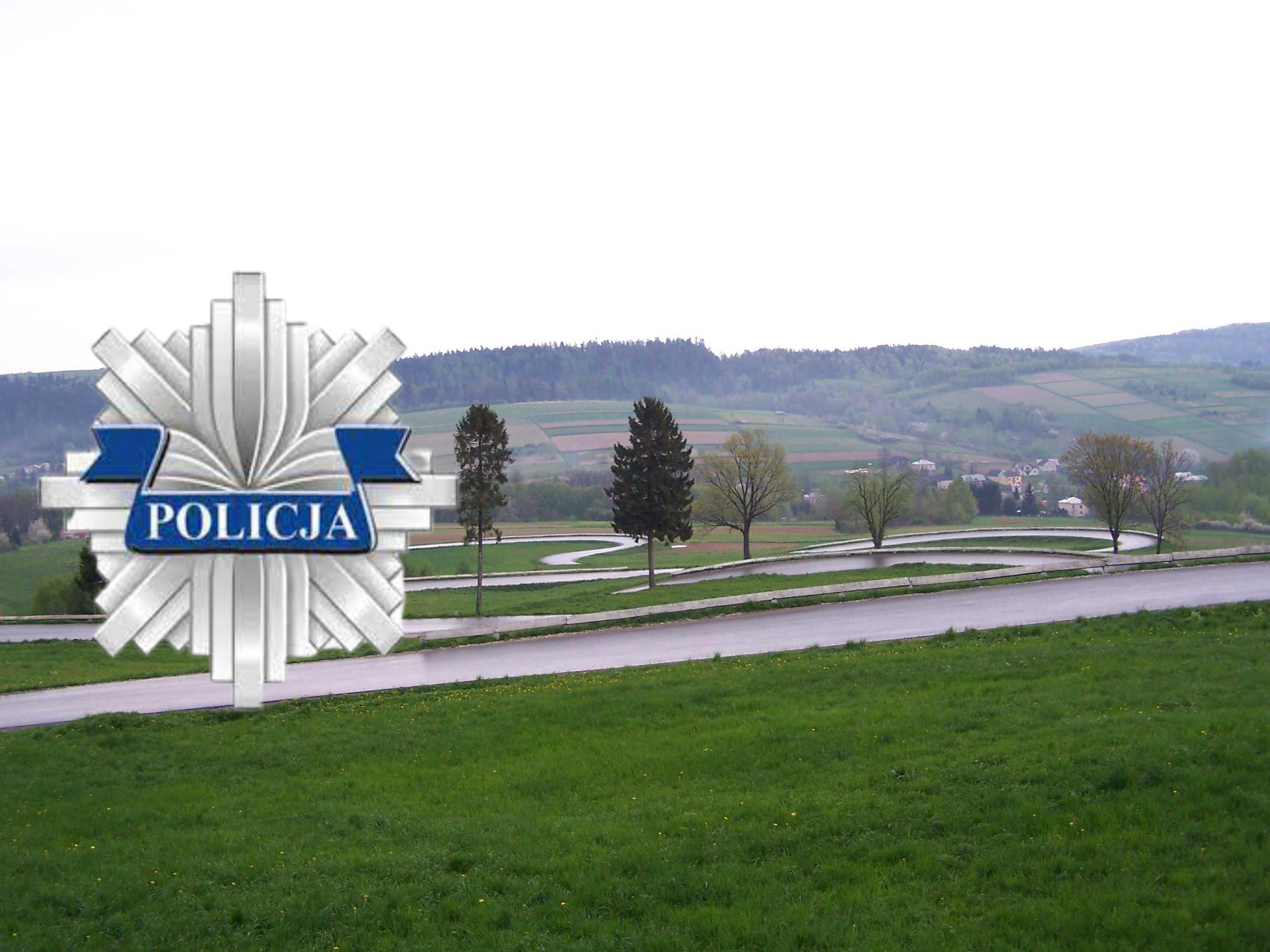 KPP Brzozów o śmiertelnym wypadku z udziałem dwóch motocyklistów w Izdebkach - Zdjęcie główne