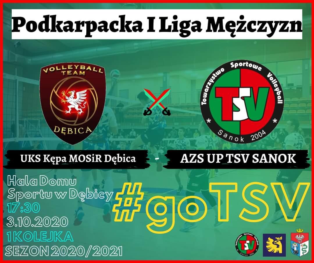 Siatkarze TSV Sanok inaugurują rozgrywki I Ligi Podkarpackiej - Zdjęcie główne