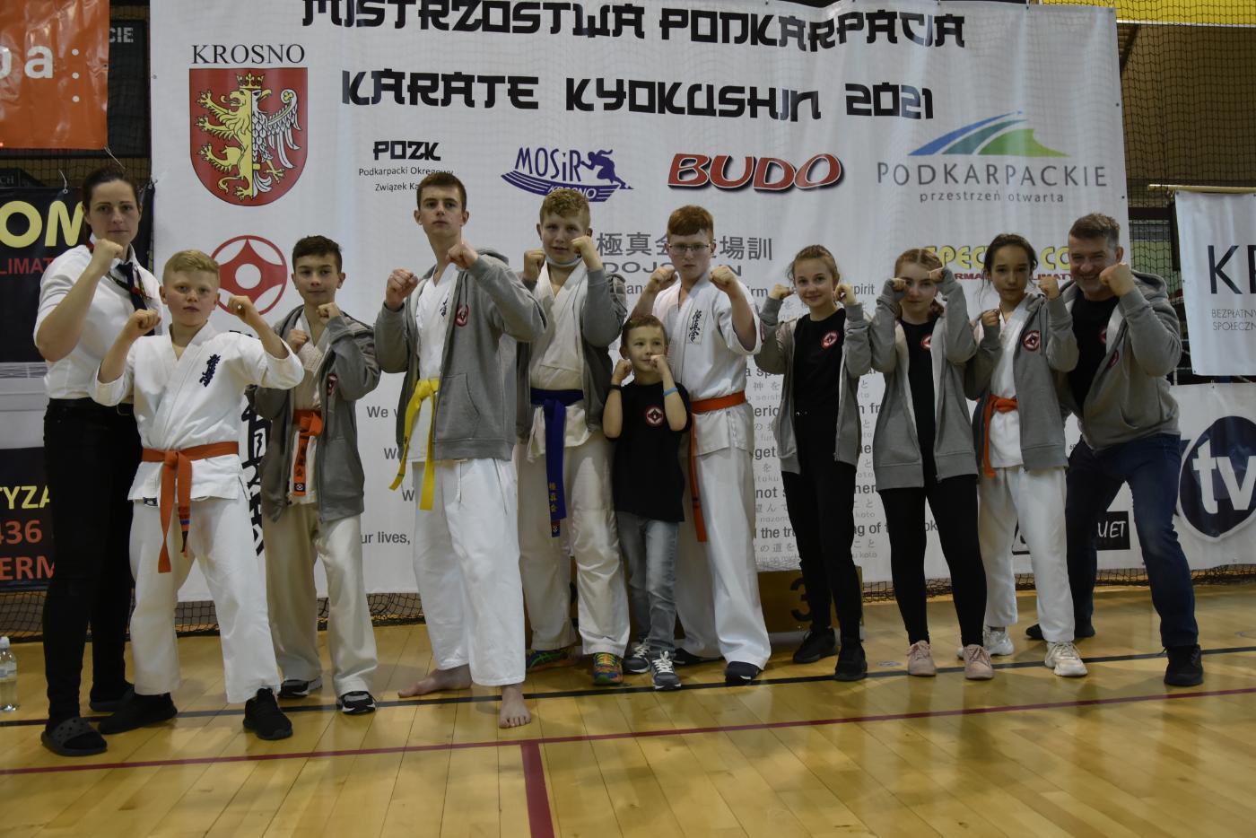 UKS Karate Kyokushin Kumite Niebieszczany na Mistrzostwach Podkarpacia Dzieci i Młodzieży [ZDJĘCIA] - Zdjęcie główne