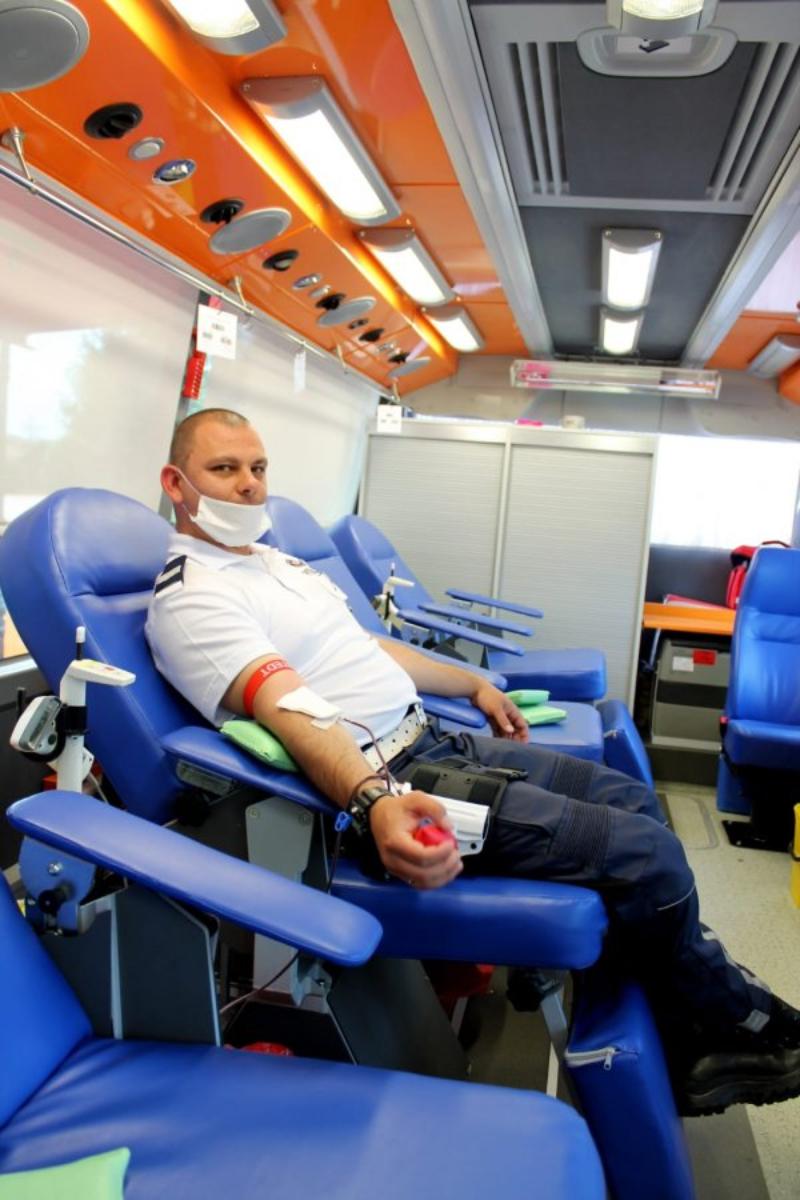 DUBIECKO. Wzorowa postawa mieszkańców - akcja krwiodawstwa [FOTO] - Zdjęcie główne