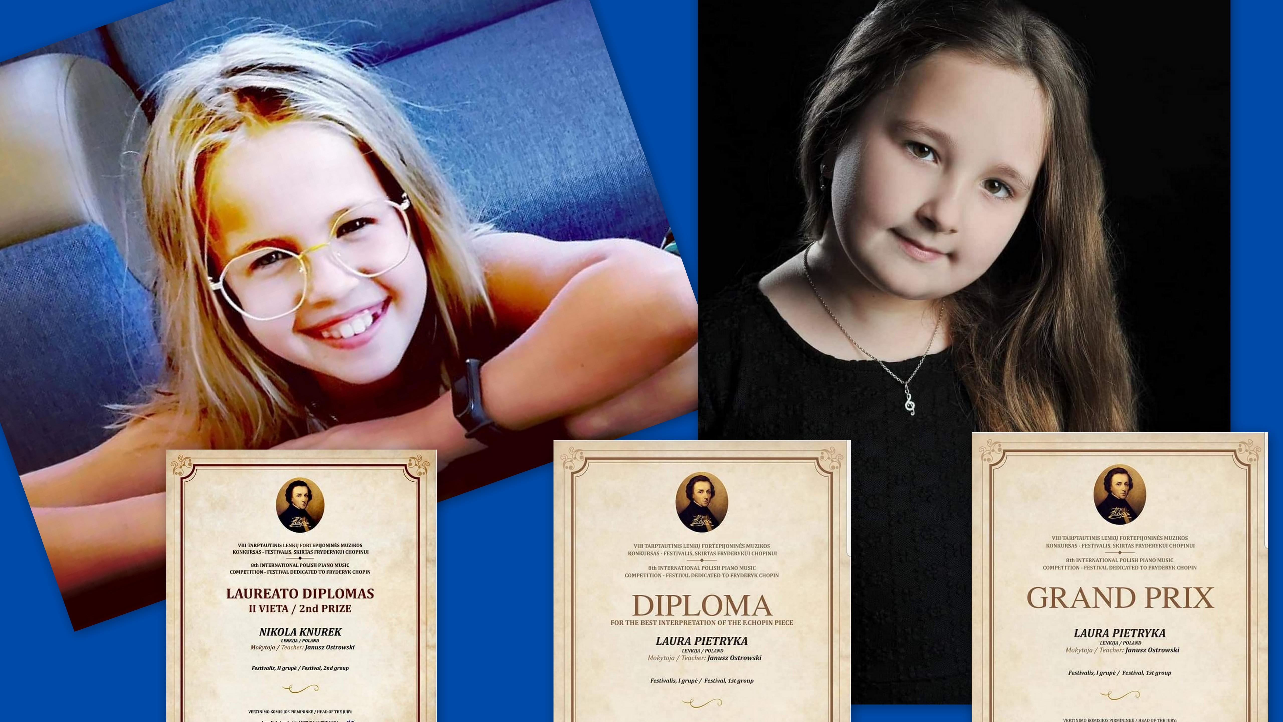 Międzynarodowy sukces młodych pianistek ze Szkoły Muzycznej w Sanoku! - Zdjęcie główne