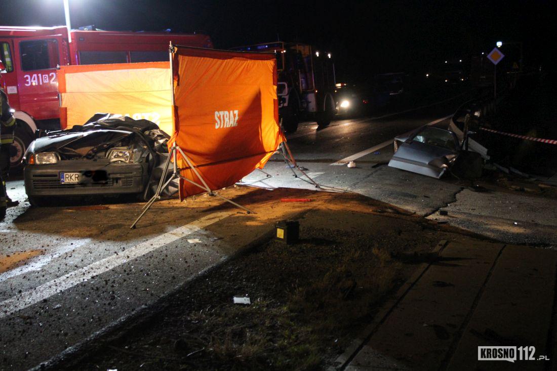 Tragiczny wypadek pod Krosnem. Zginęła 21-latka i jej 40-letni sąsiad [ZDJĘCIA] - Zdjęcie główne