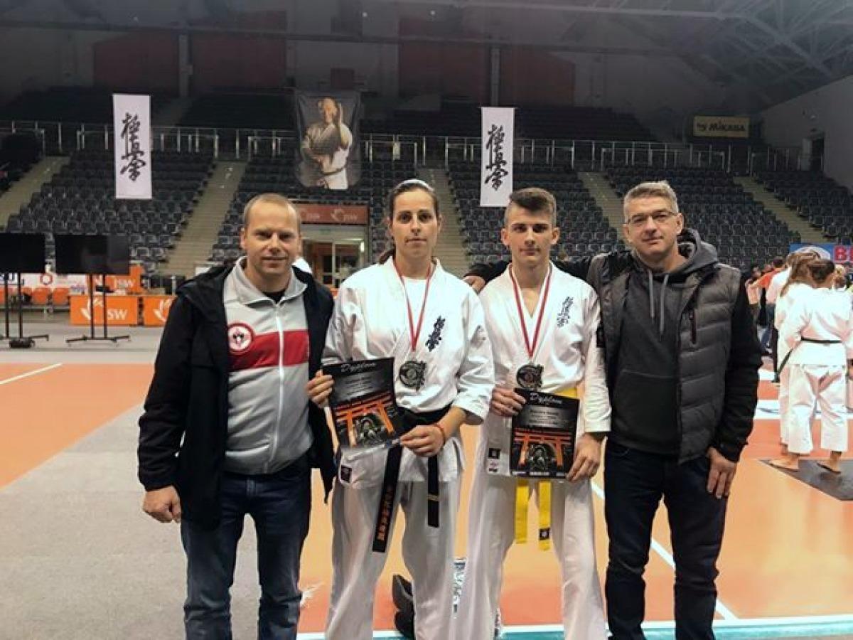 Kolejne sukcesy klubu UKS Karate Kyokushin Kumite Niebieszczany [FOTO] - Zdjęcie główne