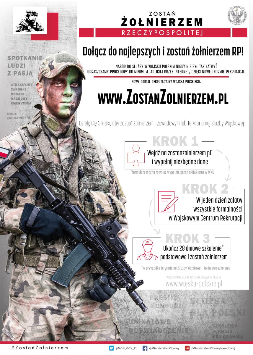 Sanok. Nowy system rekrutacji. Zostań żołnierzem RP! - Zdjęcie główne