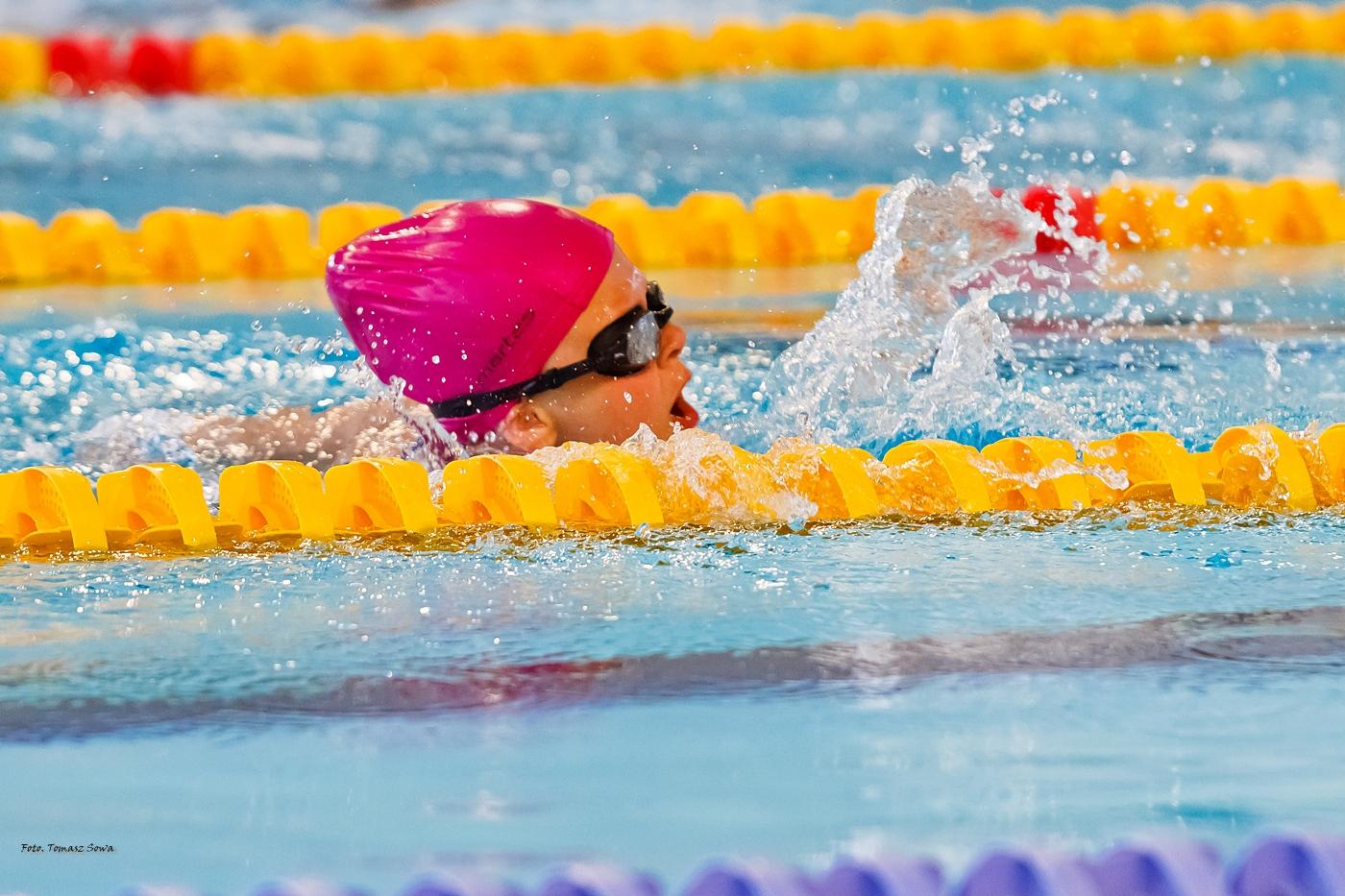 Mistrzostwa Sanoka w pływaniu [FOTORELACJA] - Zdjęcie główne