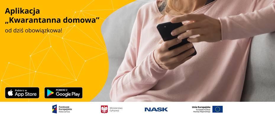 Aplikacja Kwarantanna domowa – od dziś obowiązkowa! - Zdjęcie główne