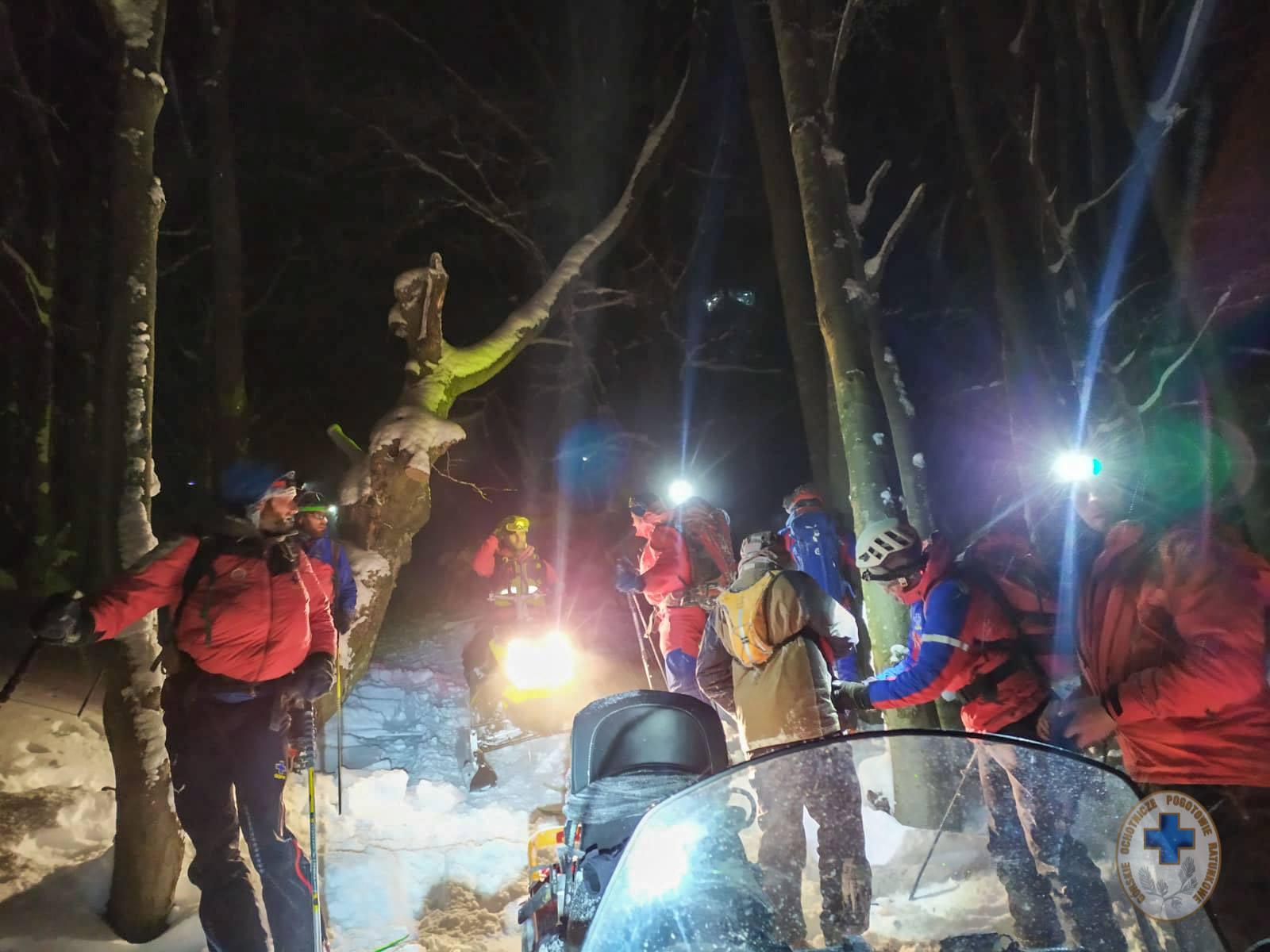 Wyszli w góry podczas fatalnych warunków pogodowych i zabłądzili [ZDJĘCIA] - Zdjęcie główne
