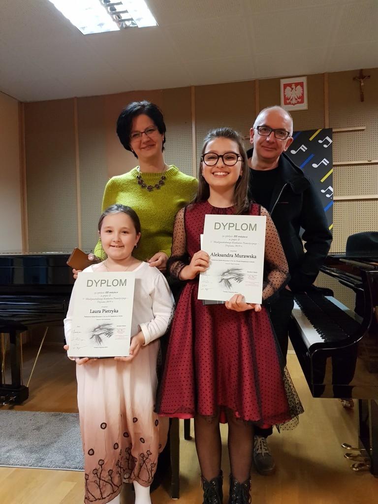 Kolejne sukcesy młodych pianistów - Zdjęcie główne