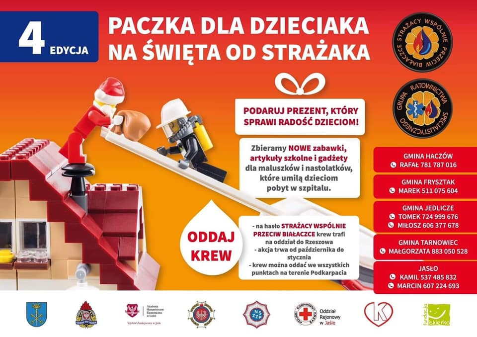 Akcja strażaków: Paczka dla dzieciaka na święta od strażaka - Zdjęcie główne