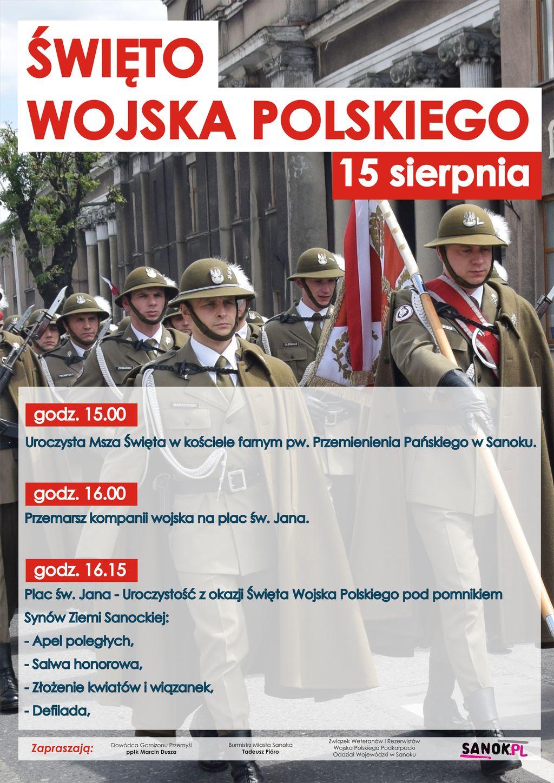 Święto Wojska Polskiego w Sanoku [PROGRAM] - Zdjęcie główne