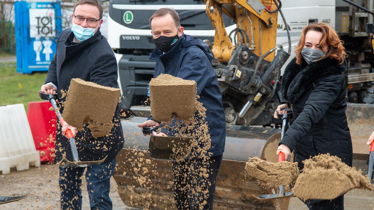 BIESZCZADY: Rozbudowa drogi wojewódzkiej Hoczew-Czarna [ZDJĘCIA] - Zdjęcie główne