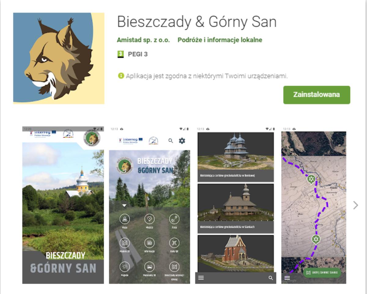 Odkryj dolinę górnego Sanu z nową aplikacją od BdPN - Zdjęcie główne