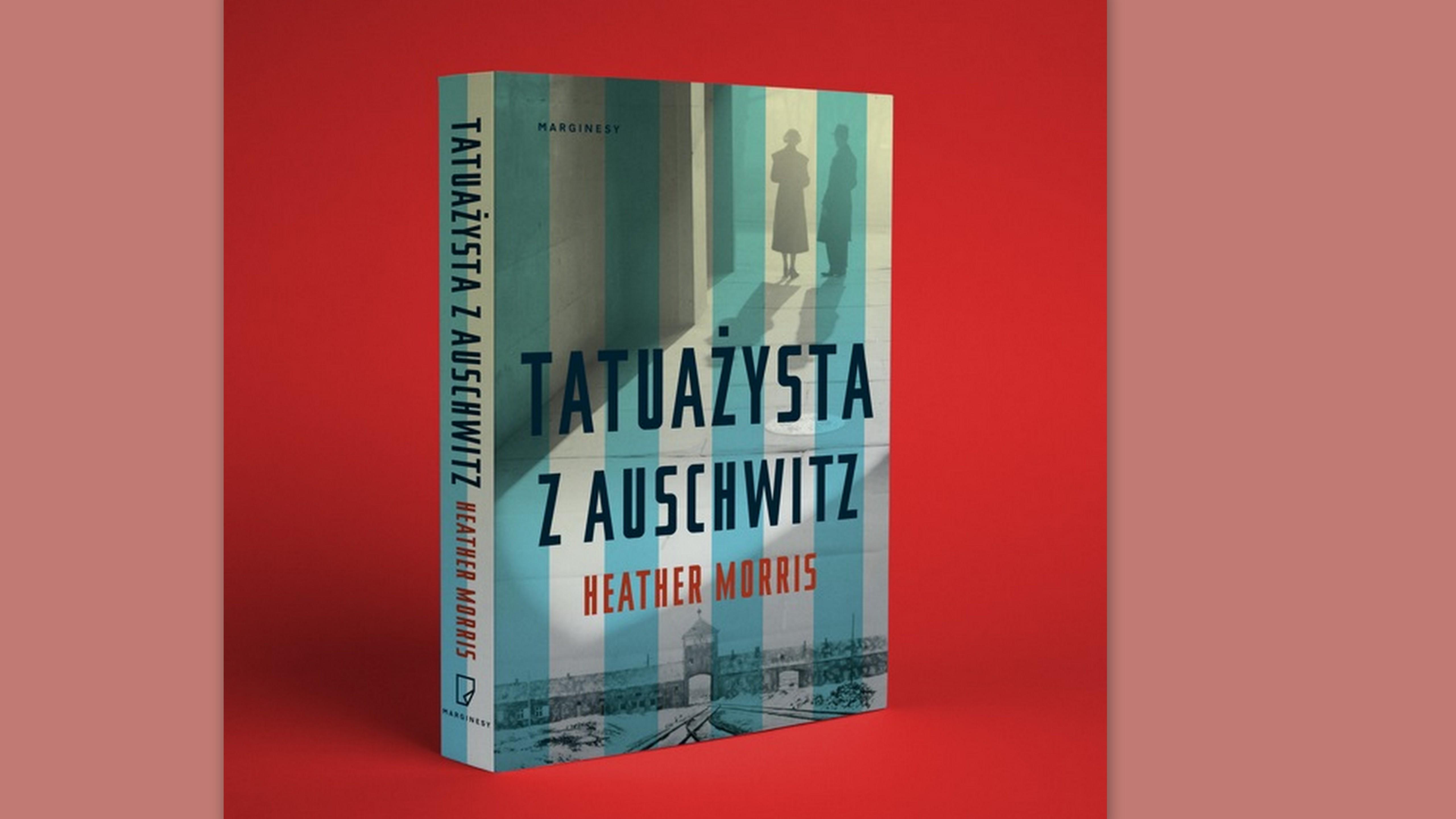 KĄCIK LITERACKI: Heather Morris - Tatuażysta z Auschwitz - Zdjęcie główne