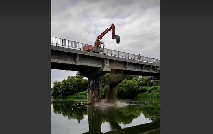 Stanowisko Sanok Rubber Company w sprawie remontu mostu zakładowego - Zdjęcie główne
