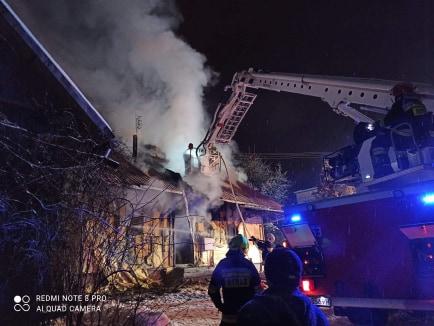GRABOWNICA. Pożar drewnianego domu jednorodzinnego [FOTO+VIDEO] - Zdjęcie główne