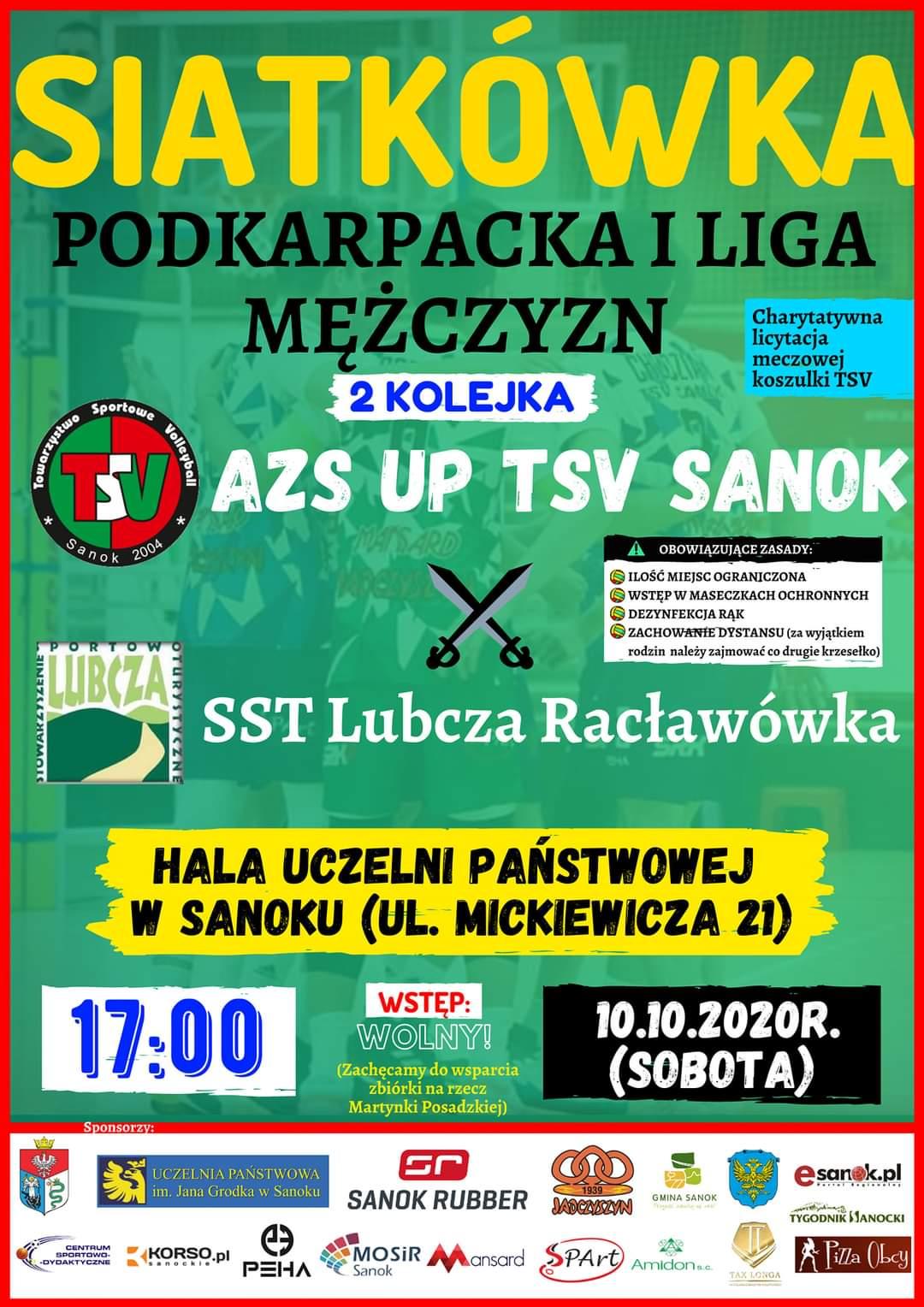 Pierwszy mecz TSV Sanok przed własną publicznością już w najbliższą sobotę - Zdjęcie główne