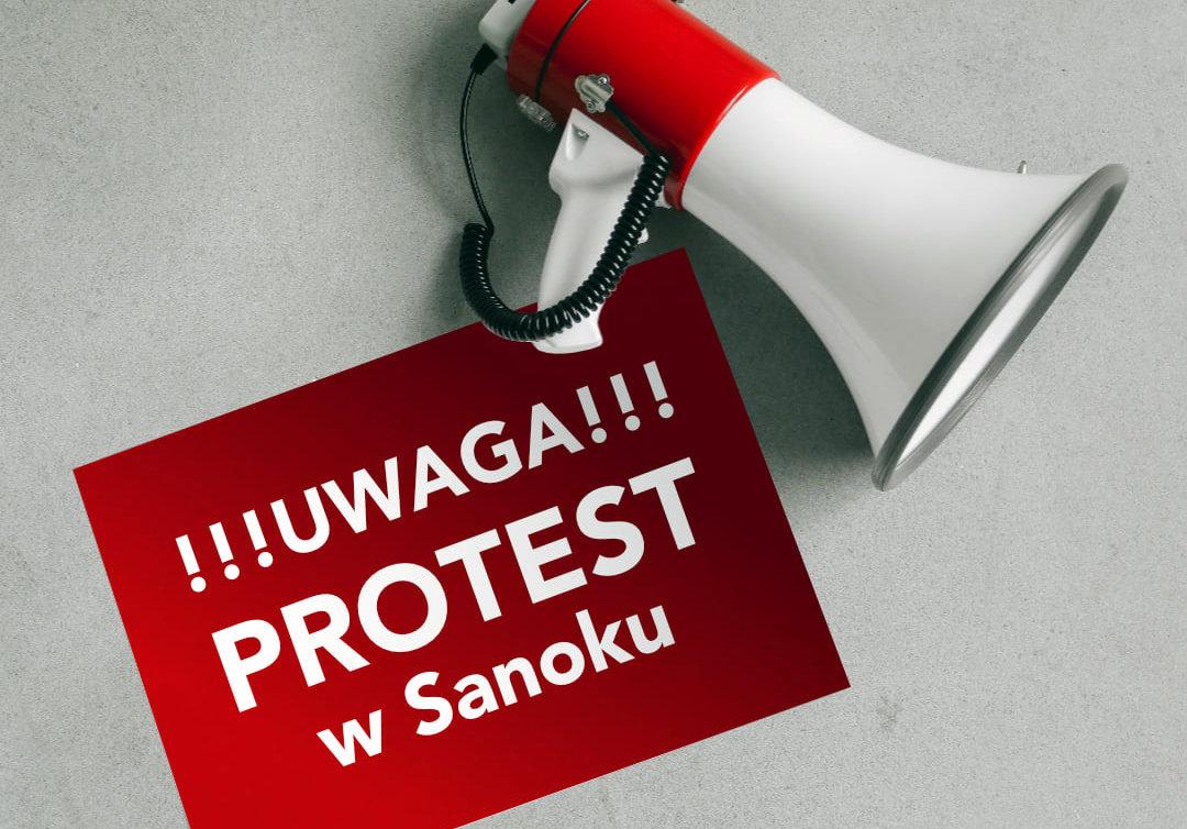 UWAGA! Jutro protest w Sanoku. Mieszkańcy wiosek sprzeciwiają się decyzjom burmistrza - Zdjęcie główne