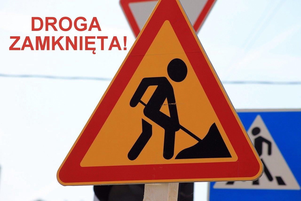 UWAGA: Całkowite zamkniecie drogi Czerteż - Strachocina! - Zdjęcie główne