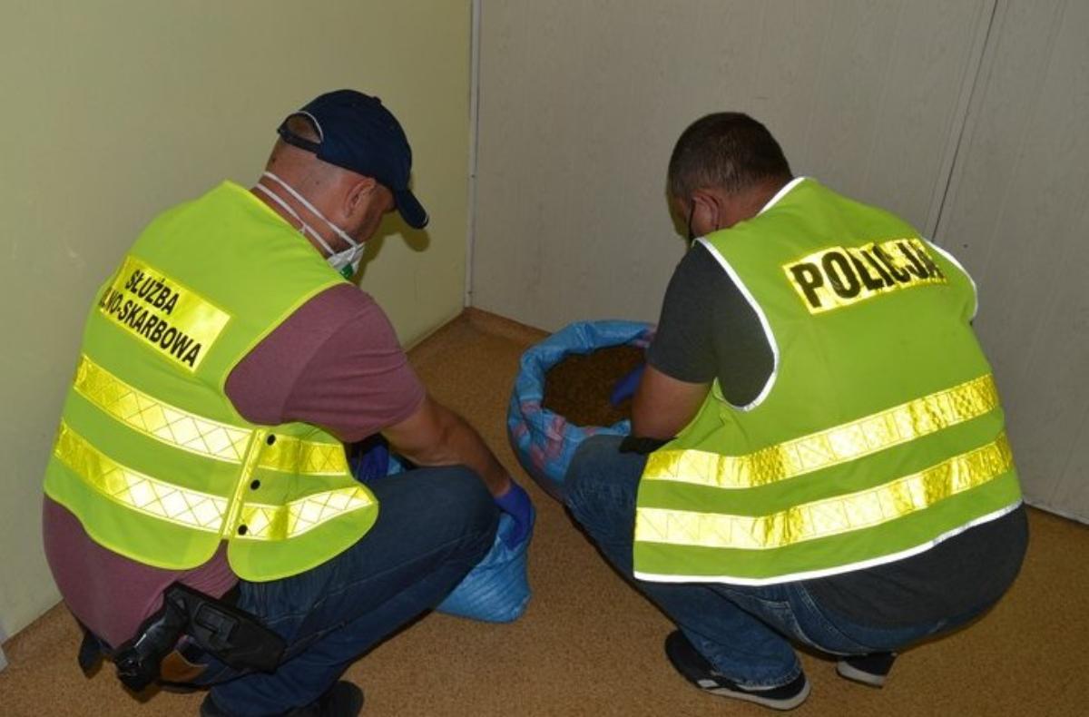 Krosno: Funkcjonariusze zabezpieczyli blisko 20 kg suszu tytoniowego bez akcyzy - Zdjęcie główne