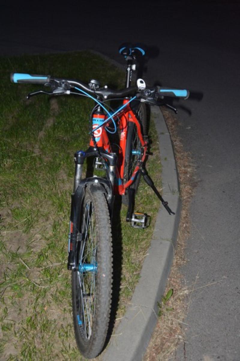 KROSNO. Rowerzysta ucierpiał w kolizji [FOTO] - Zdjęcie główne