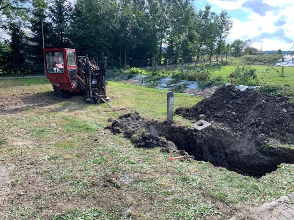 Gmina Sanok. Rozpoczęcie budowy sieci wodociągowej rozdzielczej [FOTO] - Zdjęcie główne